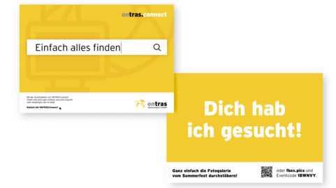 Ontras Connect Postkartenmotive zur Kampagne