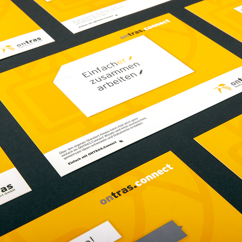 Die ONTRAS.Connect Postkartenmotive der Kampagne