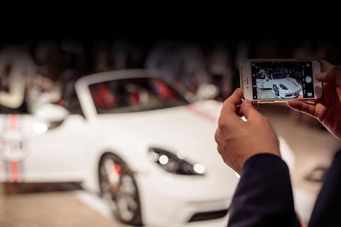 Der Porsche 718 Boxter als Fotomotiv