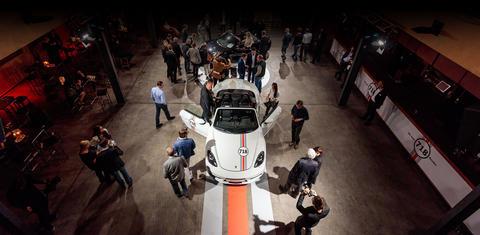 Präsentation des neuen Porsche 718 Boxter