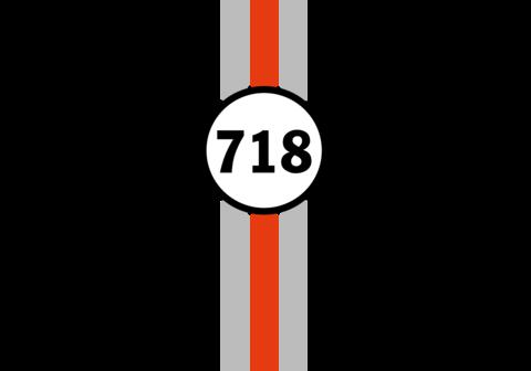 Logo Porsche 718 Boxter