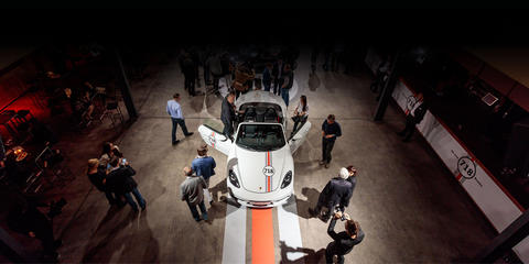 Präsentation des Porsche 718 Boxter